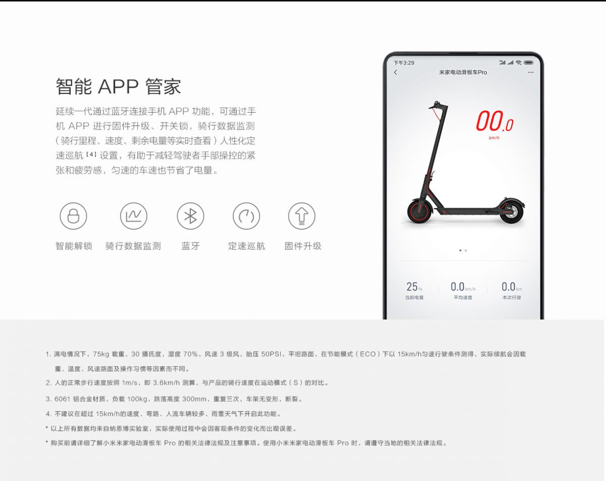 Xiaomi M365 Pro is the new electric scooter with 45 km of