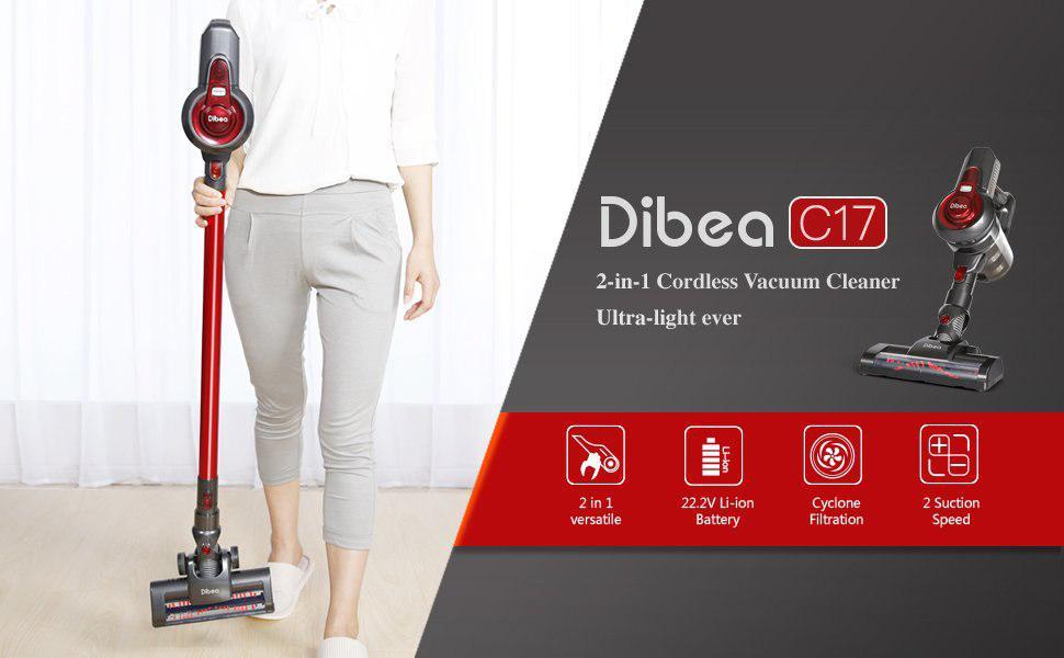 Dibea C17 2 em 1 - Banggood