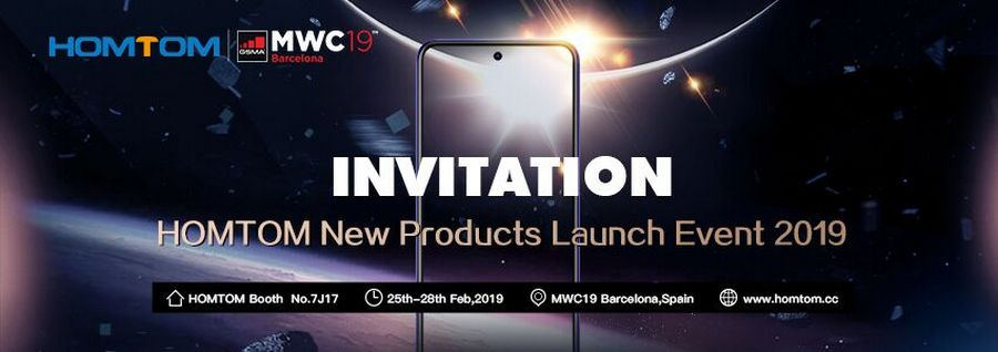 homtom mwc 2019