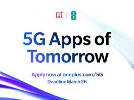 OnePlus lança o programa 5G Apps of Tomorrow