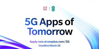 OnePlus lança o programa 5G Apps of Tomorrow