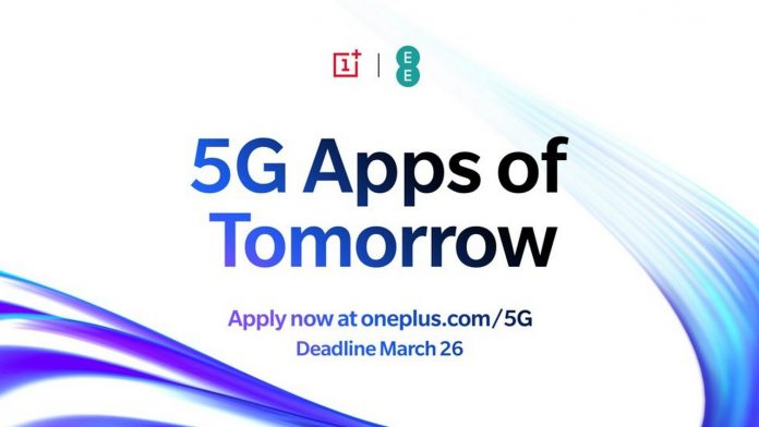 OnePlus lancia il programma 5G Apps of Tomorrow