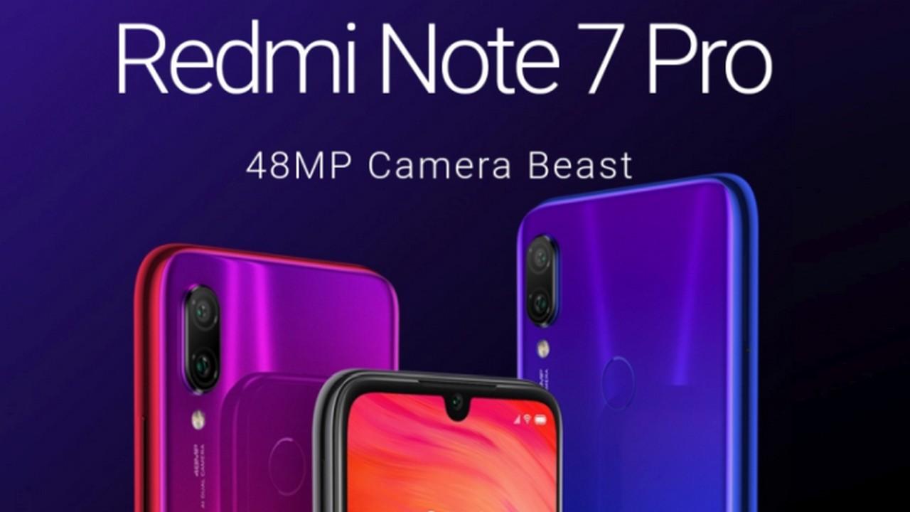 Redmi Note 7 Pro updates and improves the camera - GizChina it
