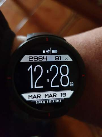 Amazfit Verge: here is the Greatfit port and the first