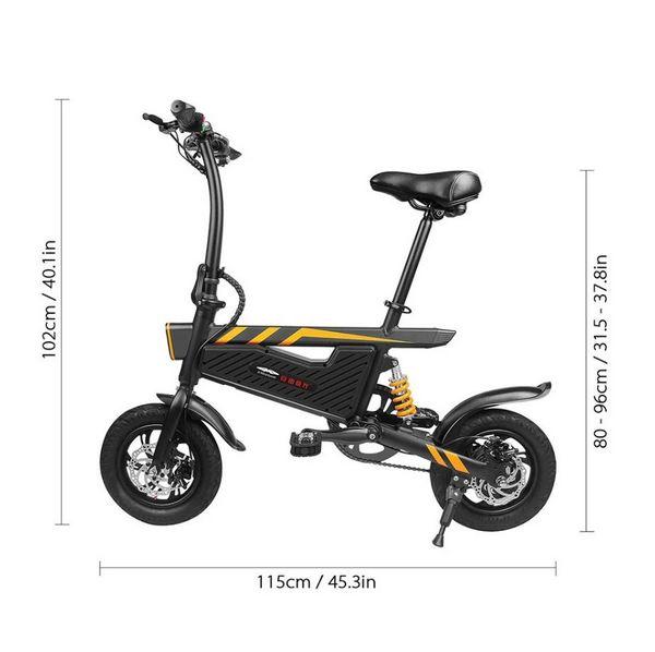 Tomtop bicicleta eléctrica