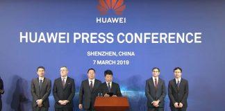 Huawei verwendet