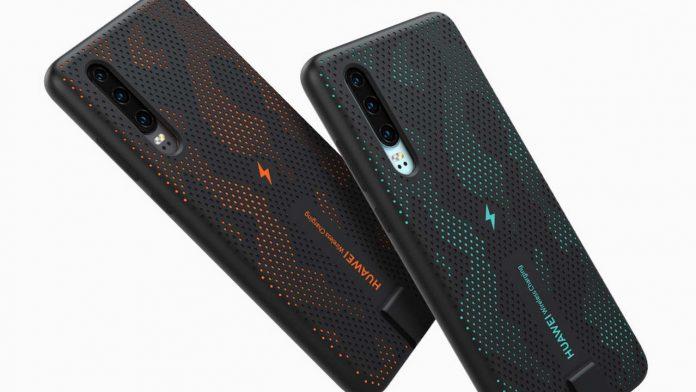 huawei p30 ricarica wireless