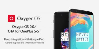 oneplus 5 oneplus 5t oxygenos 9.0.4