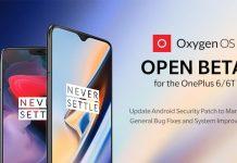 oneplus 6 oneplus 6t oxygenos open beta 14/6