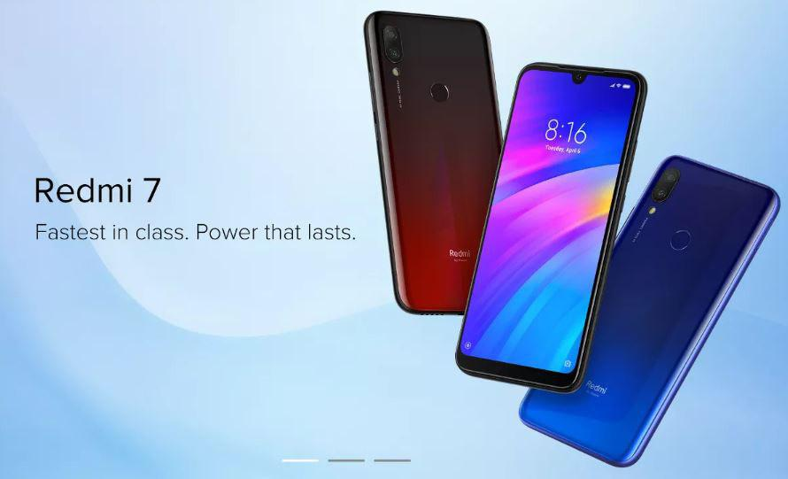 Redmi 7 3 global / 32 GB - Banggood