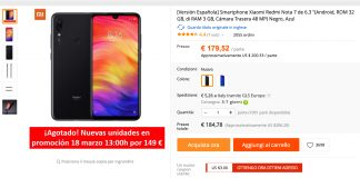 Redmi Note Super oferta 7