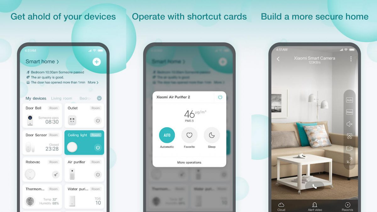 App Di Design mi home: the xiaomi app changes look and sells to material