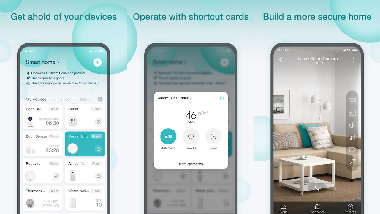 Mi Home: the Xiaomi app changes look and sells to Material Design