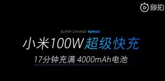 xiaomi super carga turbo 100w