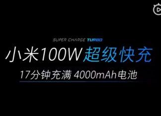 Xiaomi super carga turbo 100w