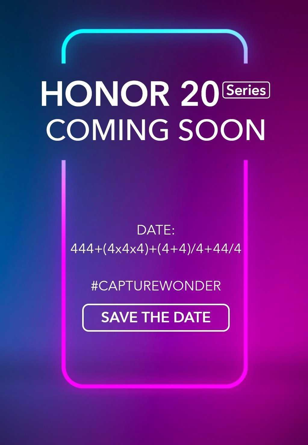 honor 20 teaser