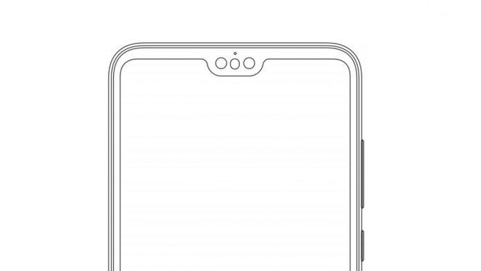 Huawei tripla fotocamera frontale