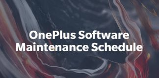 oneplus maintenance schedule