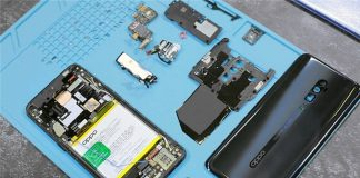 oppo reno 10x zoom teardown