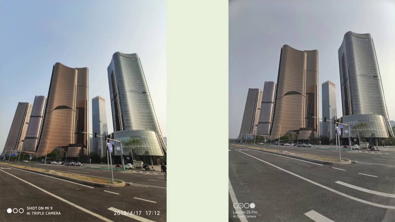 Lenovo Z6 Pro vs Xiaomi Mi 9: first photos and videos in