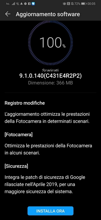 Aktualizacja Huawei P30 Pro