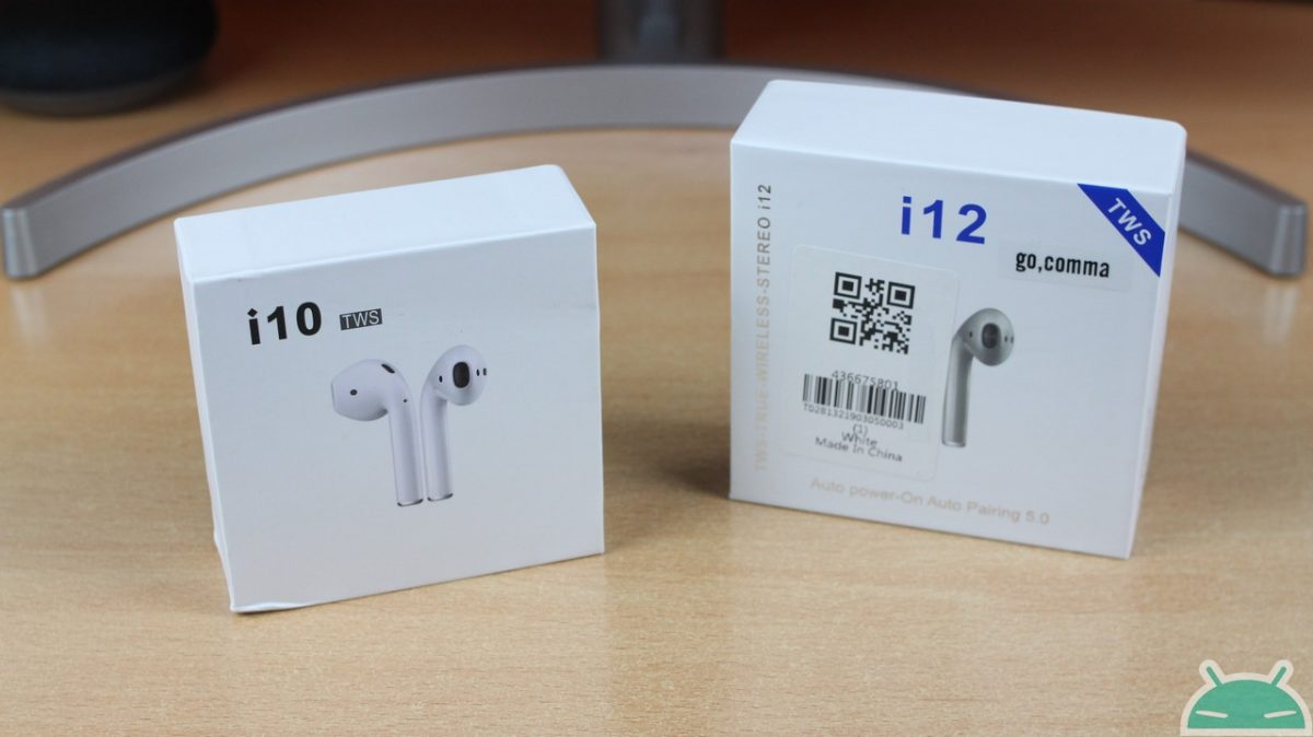 Comparison i10 TWS vs i12 TWS: the best clones of airpods? - GizChina it