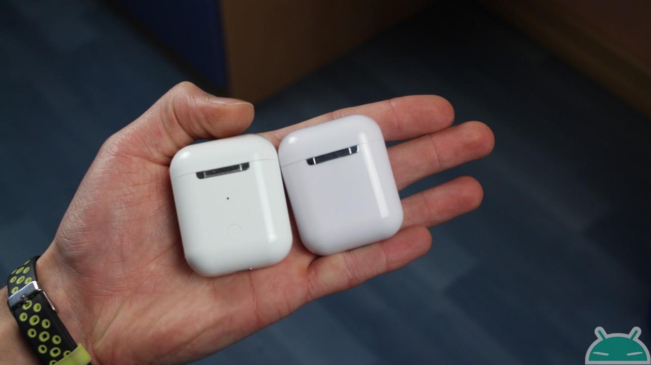 Comparison i10 TWS vs i12 TWS: the best clones of airpods