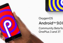 Comunidade Android 9 Beta OnePlus 3