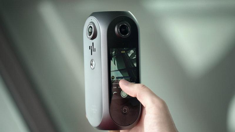 كان الطيار indiegogo الكاميرا VR