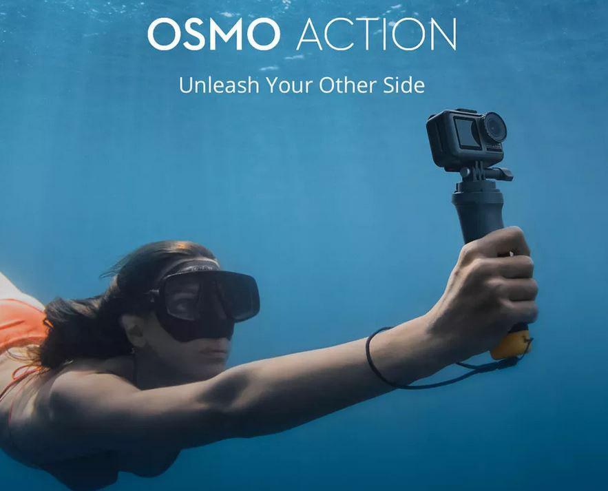 DJI Osmo Action 4K / 60fps - Banggood