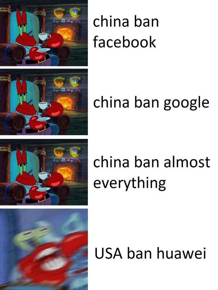 huawei cina usa meme