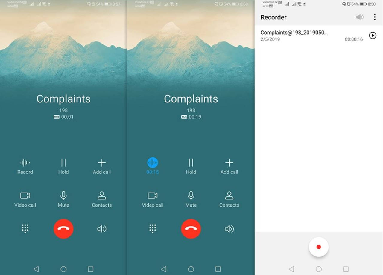 Huawei / Honor: this APK adds the registration of calls to