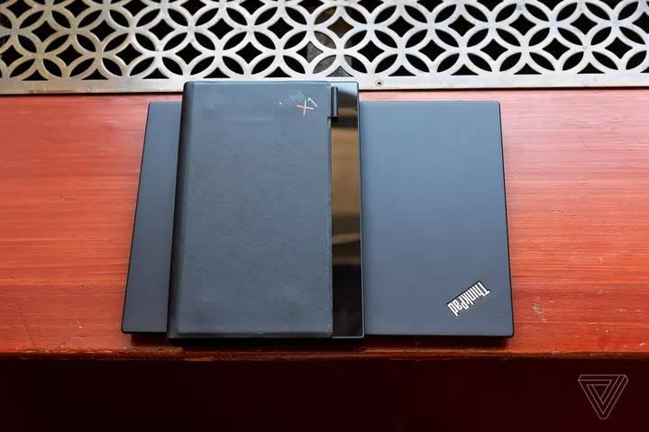 notebook dobrável de tela lenovo