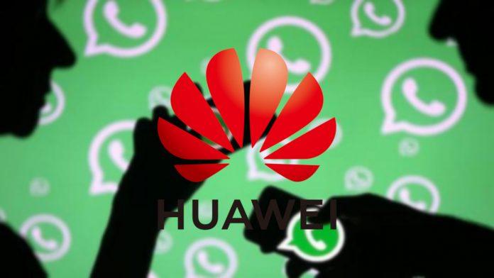 proibição do whatsapp huawei