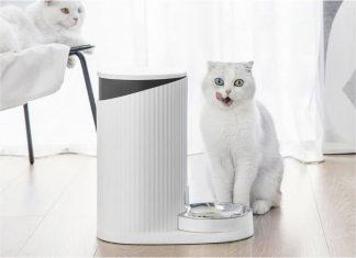 xiaomi furrytail inteligente alimentador mascota