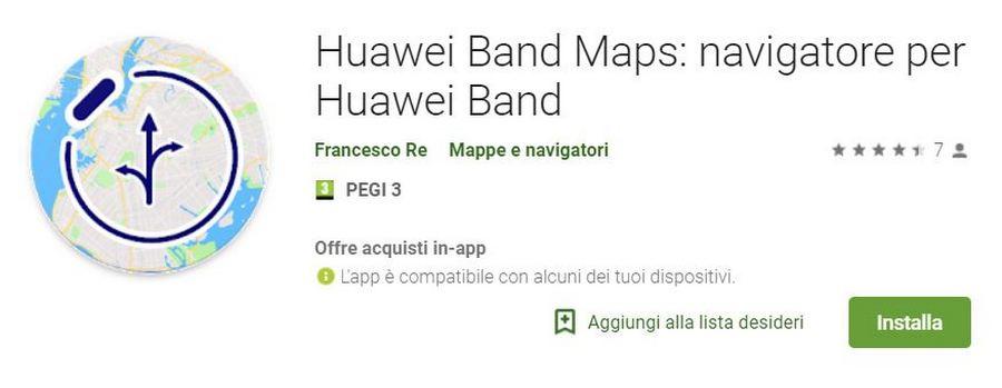 Mapy Huawei Band
