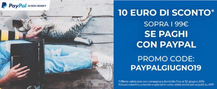 paypalgiugno2019 unieuro paypal coupon
