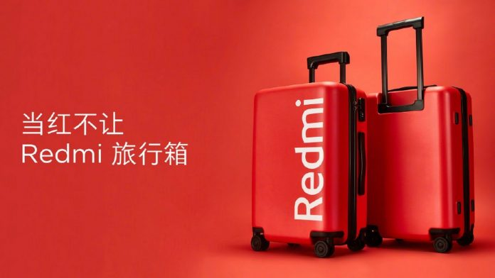 redmi suitcase