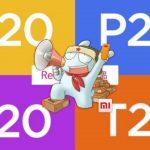 redmi x20 p20 k20 t20