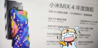 Xiaomi mi mix 4 filtración de datos técnicos