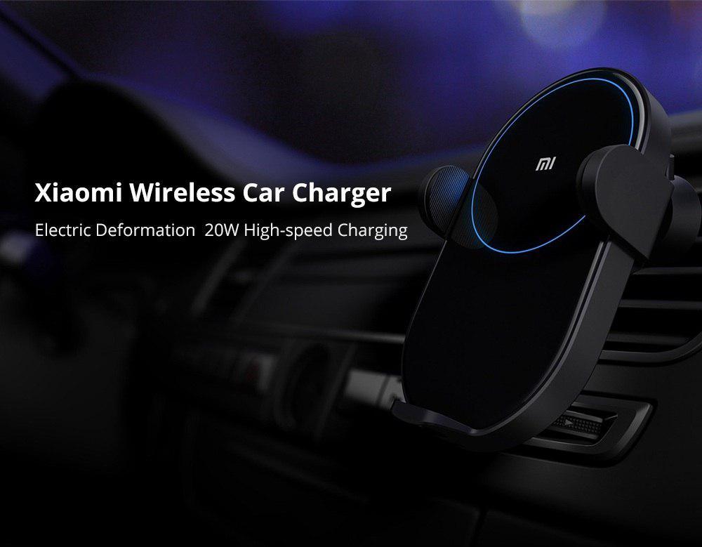 Xiaomi caricatore Wireless da auto 20W – Banggood