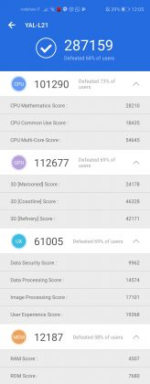 Honor 20 Benchmark