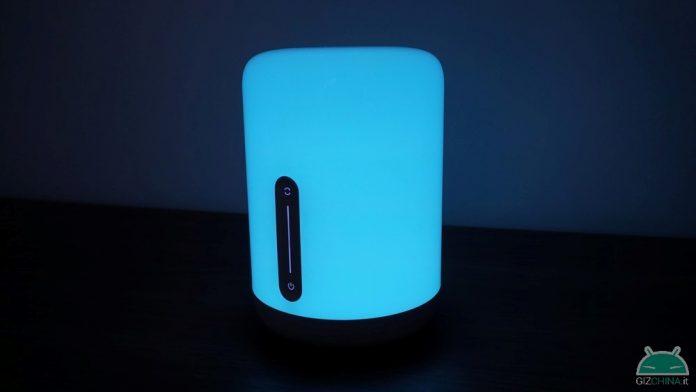 revisão xiaomi mijia lâmpada de cabeceira 2