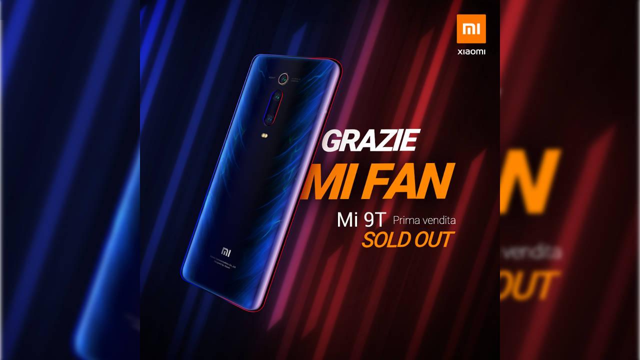 f1f834205 Come volevasi dimostrare: annunciato precisamente una settimana fa, Xiaomi  Mi 9T non è già più disponibile. Le vendite dello smartphone sono  prontamente ...
