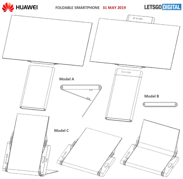 Huawei dobrável smartphone