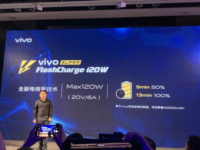 vivo super flashcharge 120w