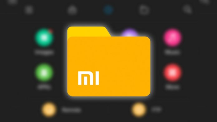 xiaomi file manager