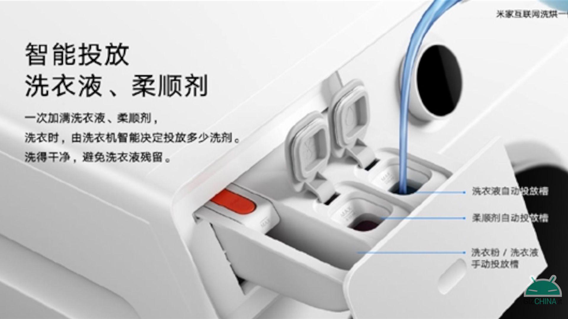 Xiaomi Mijia Internet Lavadora e Secadora