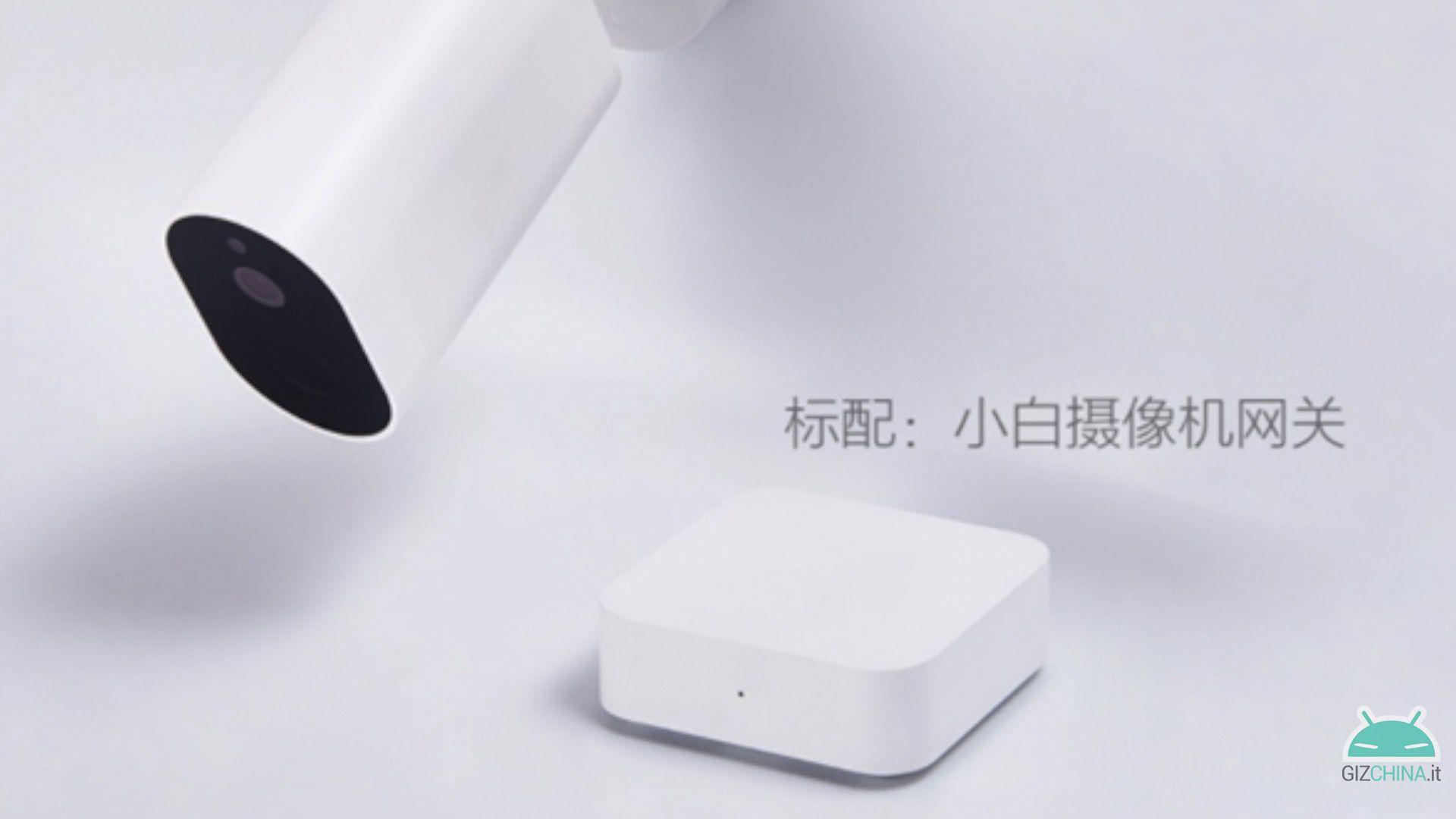 Xiaomi Mijia Xiaobai câmera de segurança externa