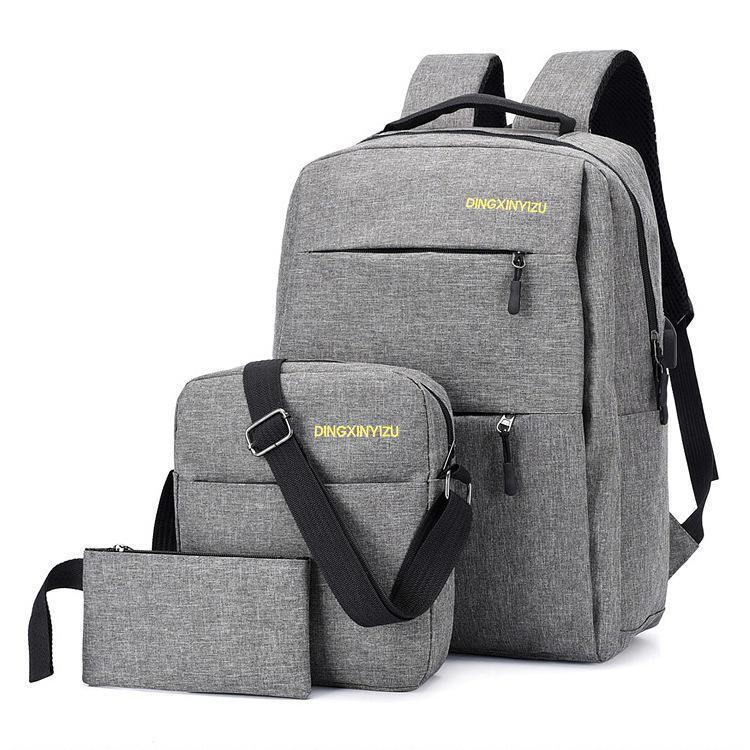 Set mochila xiaomi + bolsa de ombro + saco de embreagem - Banggood